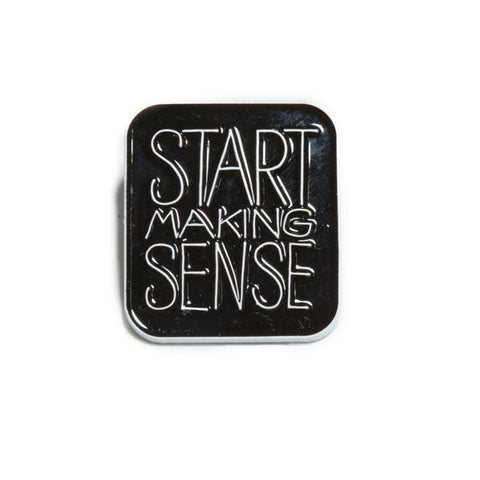 The Quiet Life - Start Making Sense Lapel Pin - Metal