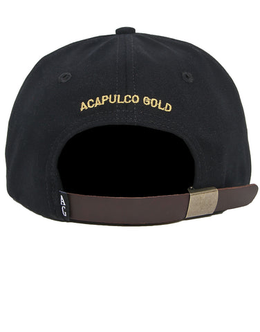 Acapulco Gold - Purebred 6-Panel Cap - Black