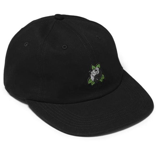 Raised by Wolves - Yin Yang Rose 6-Panel Cap - Black