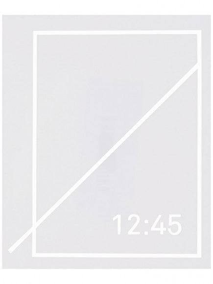 Numbers Edition - Symbol Sticker - White