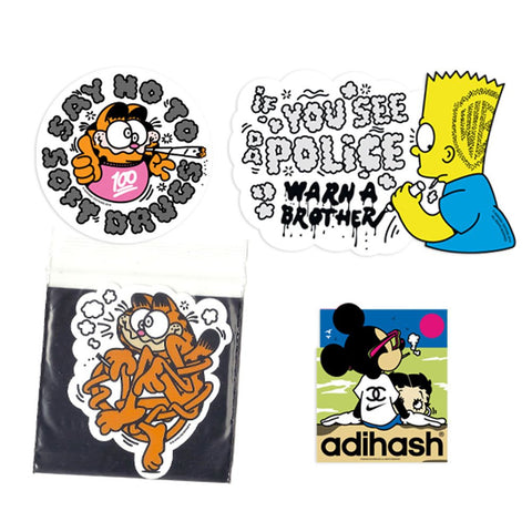 Adihash Editions - Say No to Soft Drugs 4 - Stickers