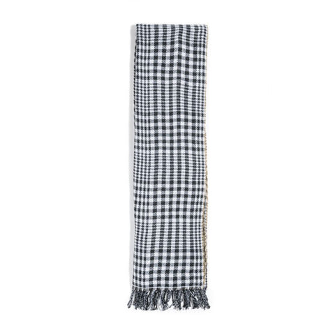 Stussy - Double Faced Wool Scarf - Brown