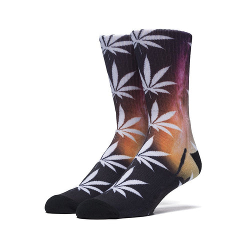 HUF - Scenic Plantlife Crew Socks - Spaced Out