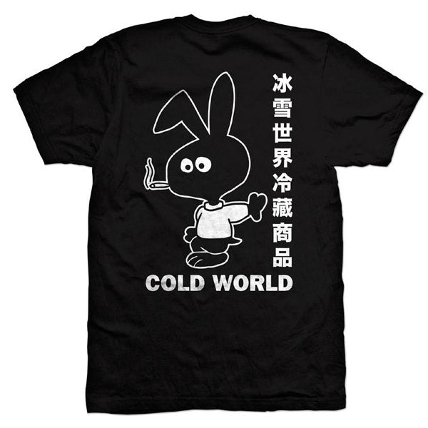 Cold World - Bunny T-Shirt - Black