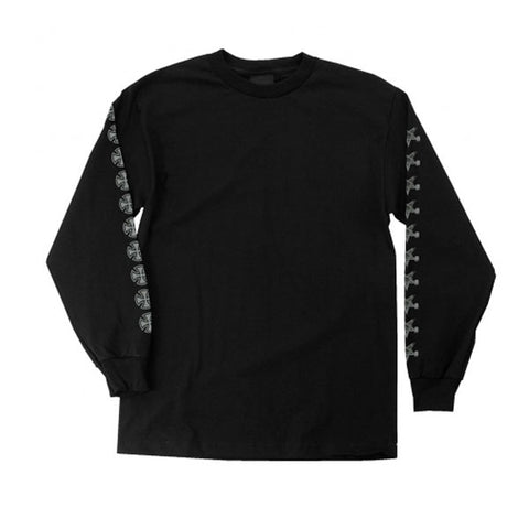 Thrasher - Pentagram Cross L/S Shirt - Black