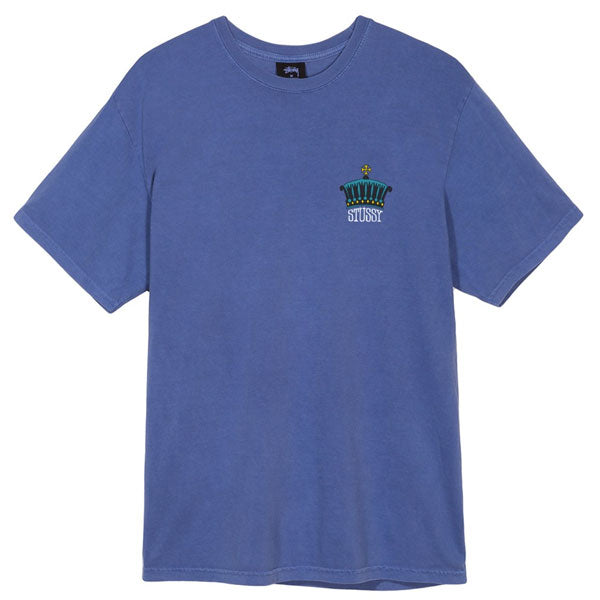 Stussy - The Crown Pigment Dyed Tee - Blue