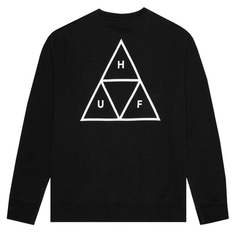 HUF - Essentials TT Crewneck - Black