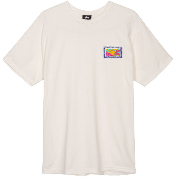 Stussy - Horizon Pigment Dyed Tee - Natural