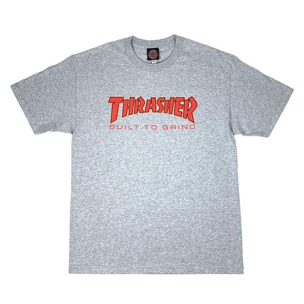 Thrasher - Independent BTG Tee - Athletic Grey