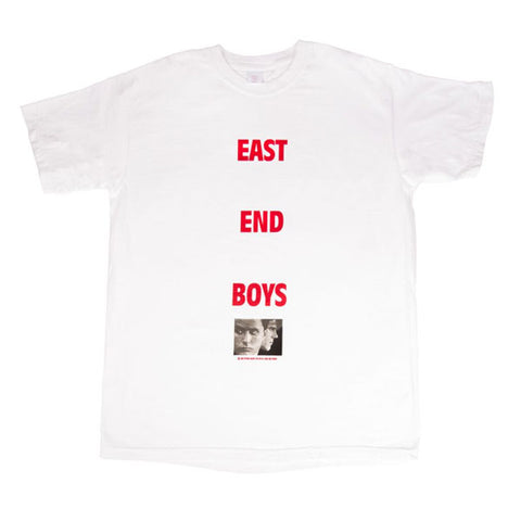 Psychic Hearts - East End Boys Tee - White