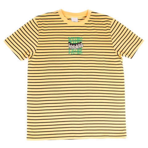 Psychic Hearts - A Dream of You Stripe Tee - Marlgold/Black
