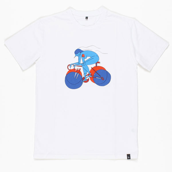By Parra - Break Away Girl Tee - White