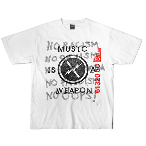 Fact Brand - Weapon Tee - White