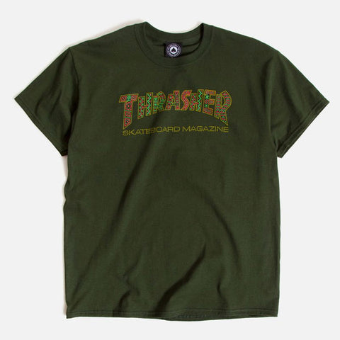 Thrasher - Davis Tee - Forest Green