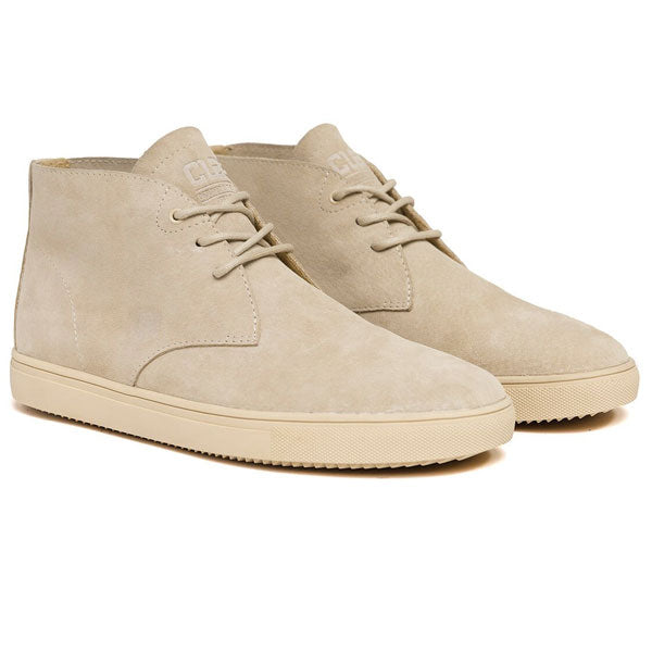 Clae - Strayhorn SP Unlined - Light Tan Suede