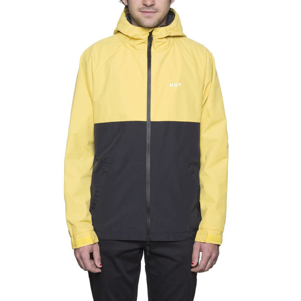 HUF - Standard Shell Jacket - Yellow/Black