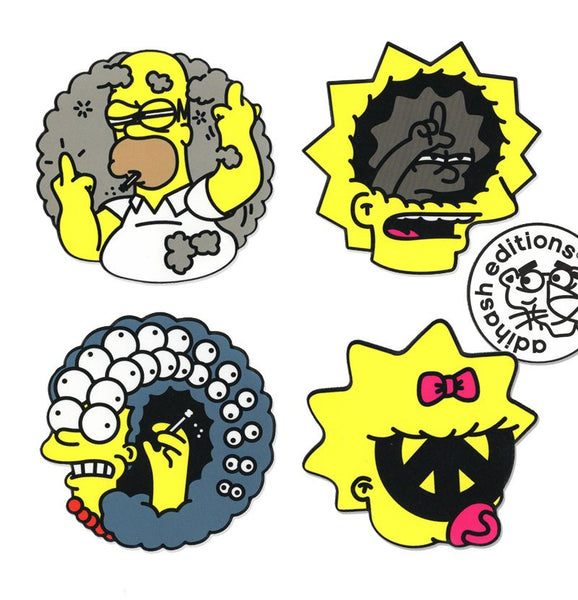 Adihash Editions - Just Say Yes to Saying No to Saying Yes to Soft Drugs - Simpsons