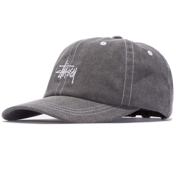 Stussy - Washed Stock Low Pro Cap - Black