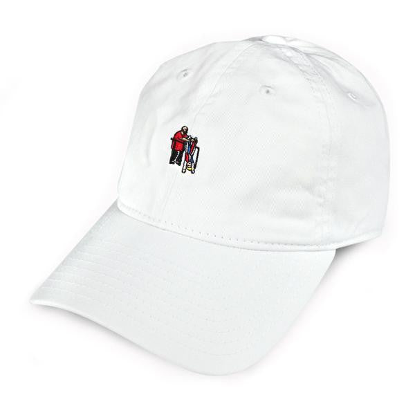 40s & Shorties - Hanging Out Dad Hat - White