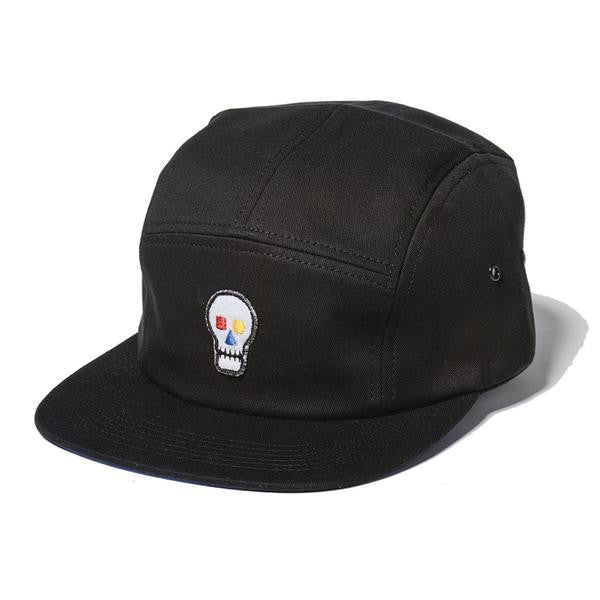 The Quiet Life - Bauhaus Skull 5 Panel Cap - Black