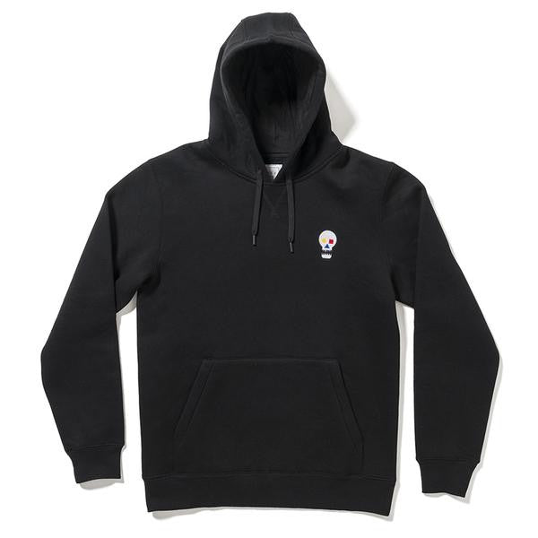 The Quiet Life - Bauhaus Skull Pullover Hoodie - Black