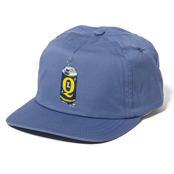 The Quiet Life - Beer Can Relaxed Snapback - Slate Blue