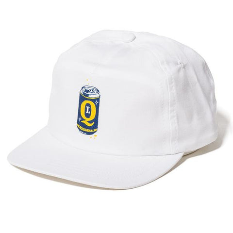 The Quiet Life - Beer Can Relaxed Snapback - White
