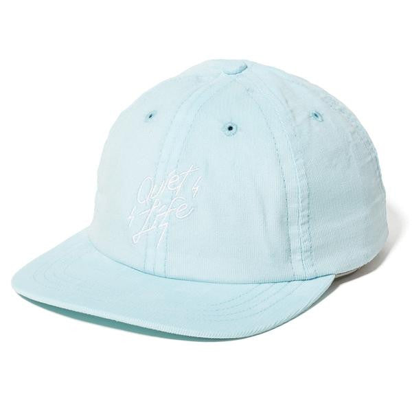 The Quiet Life - Bolt Cord Polo Hat - Sky
