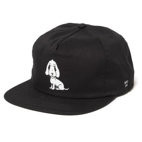 The Quiet Life - Boob Dog Relaxed Fit Cap - Black