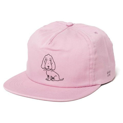 The Quiet Life - Boob Dog Relaxed Fit Cap - Pink