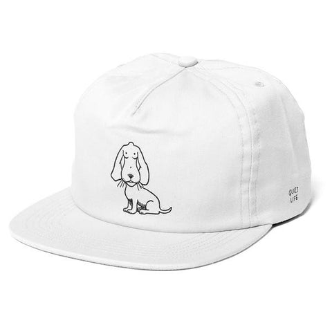 The Quiet Life - Boob Dog Relaxed Fit Cap - White
