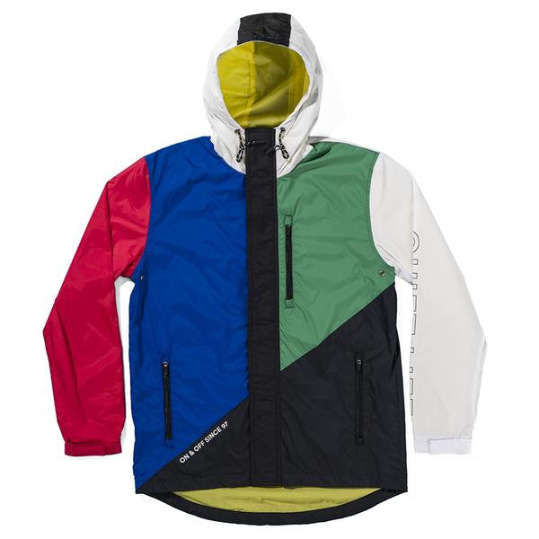 The Quiet Life - Boundary Windbreaker - Multi