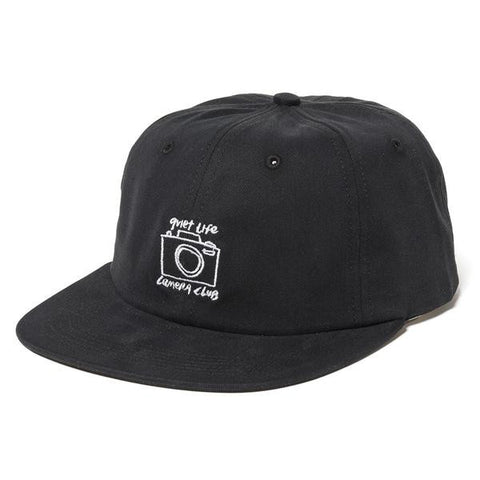 The Quiet Life - Camera Club Polo Hat - Black