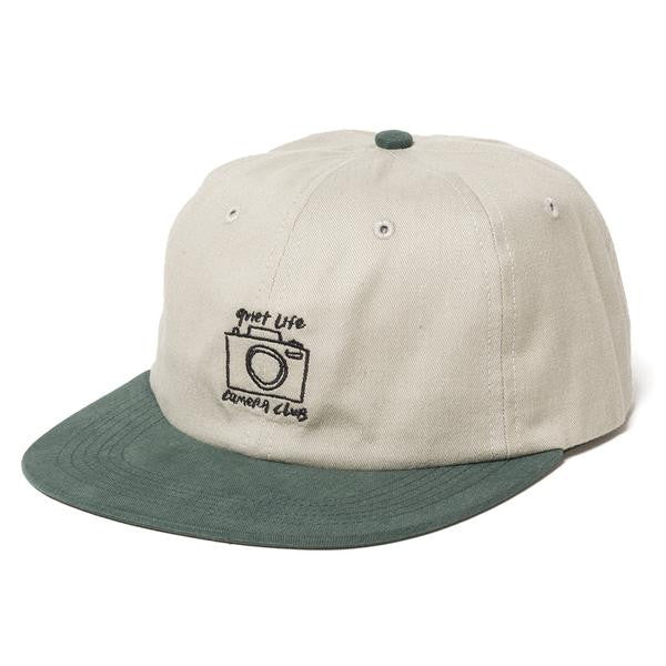 The Quiet Life - Camera Club Polo Hat - Tan/Forest