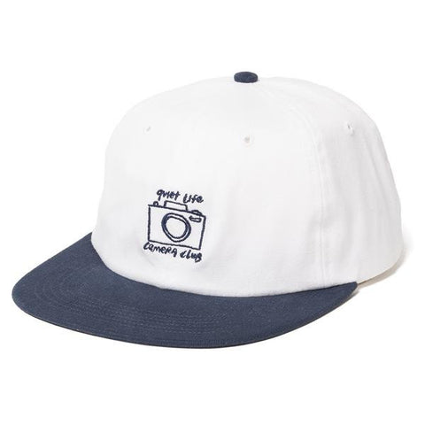 The Quiet Life - Camera Club Polo Hat - White/Navy