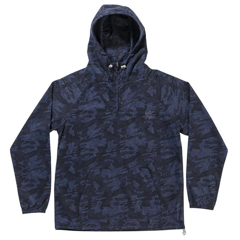 The Quiet Life - Camo Windy Pullover - Navy