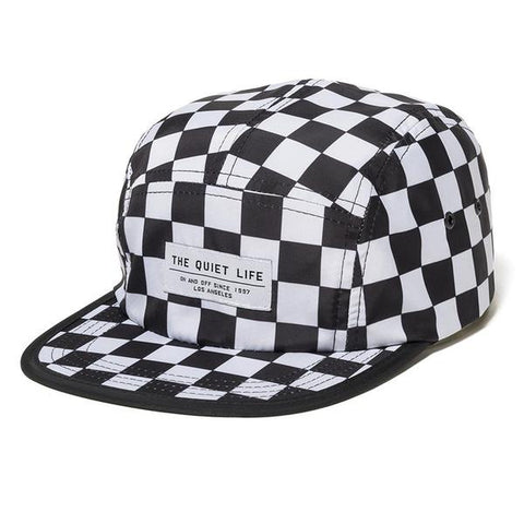 The Quiet Life - Checker 5 Panel Camper Hat - All Over