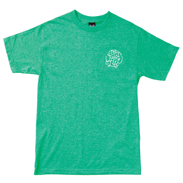 The Quiet Life - Court T-Shirt - Heather Green