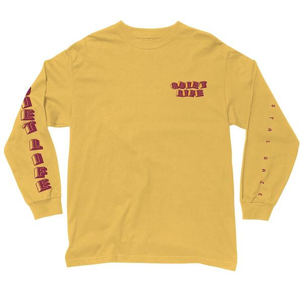 The Quiet Life - Crystal Daze L/S Shirt - Gold