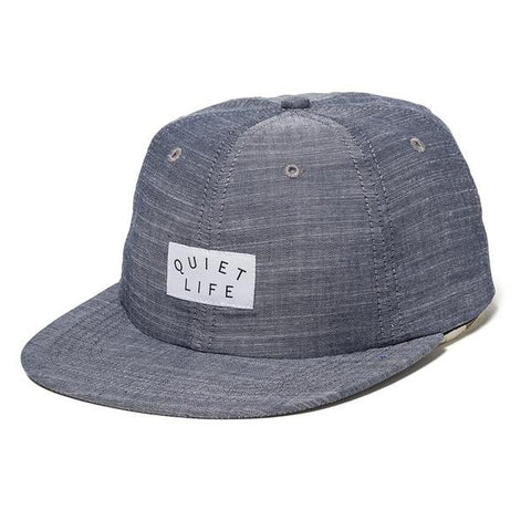 The Quiet Life - Denim Polo Hat - Chambray