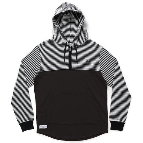 The Quiet Life - Dual Pullover Hood - Black
