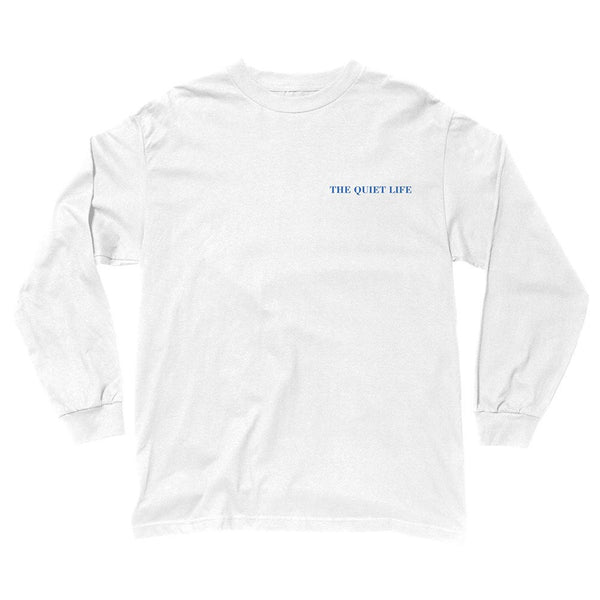 The Quiet Life - Face Off L/S T-Shirt - White
