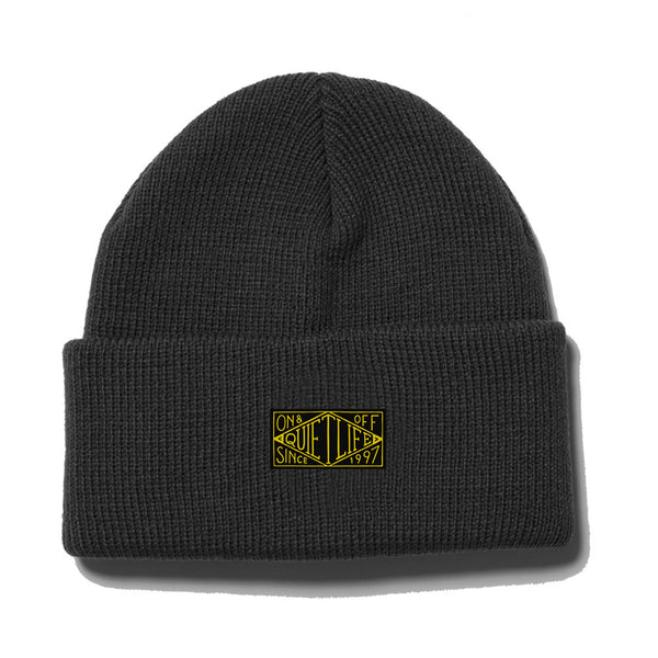 The Quiet Life - Gold Label Beanie  - Black