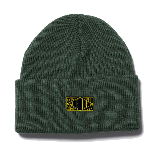 The Quiet Life - Gold Label Beanie  - Forest