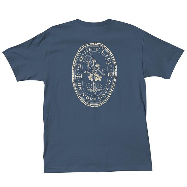 The Quiet Life - Lady Liberty T-Shirt - Harbor Blue