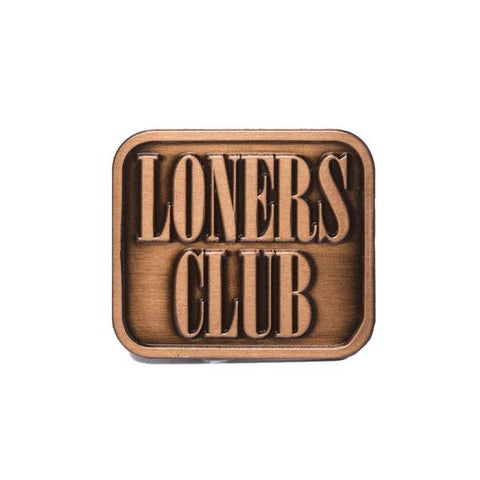 The Quiet Life - Loners Club Lapel Pin - Metal