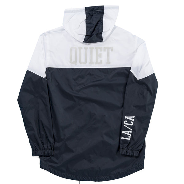 The Quiet Life - MC Windbreaker Jacket - White/Black