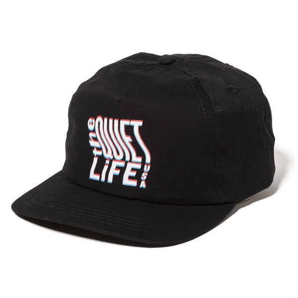 The Quiet Life - Photocopy Relaxed Snapback - Black