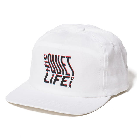 The Quiet Life - Photocopy Relaxed Snapback - White