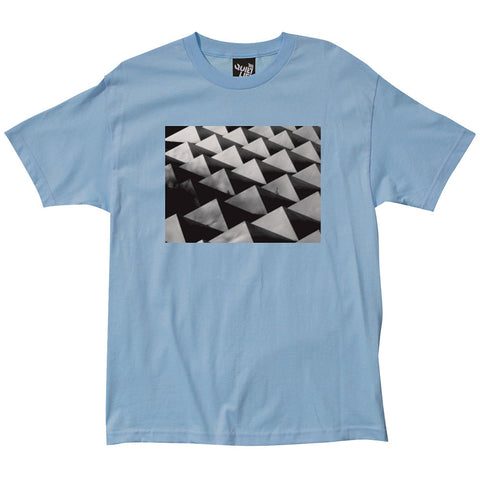 The Quiet Life - Pyramids Photo Tee - Light Blue